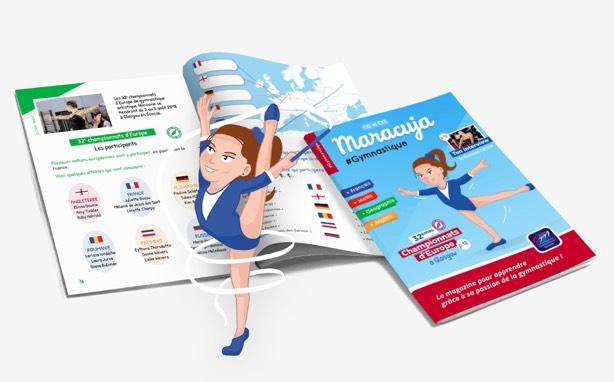 Maracuja Gymnastique cahier de vacances
